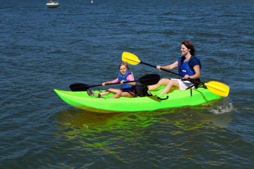 Lifetime Tandem Sit On Top Kayak With Back Rests 10 Feet
