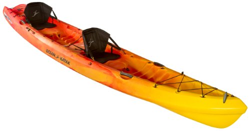 Ocean Kayak 16-Feet x 4.5-Inch Zest Two Expedition Tandem Sit